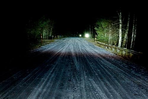 Ljusbild Halogen-extraljus